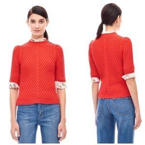 Rebecca Taylor La Vie Cotton Pullover